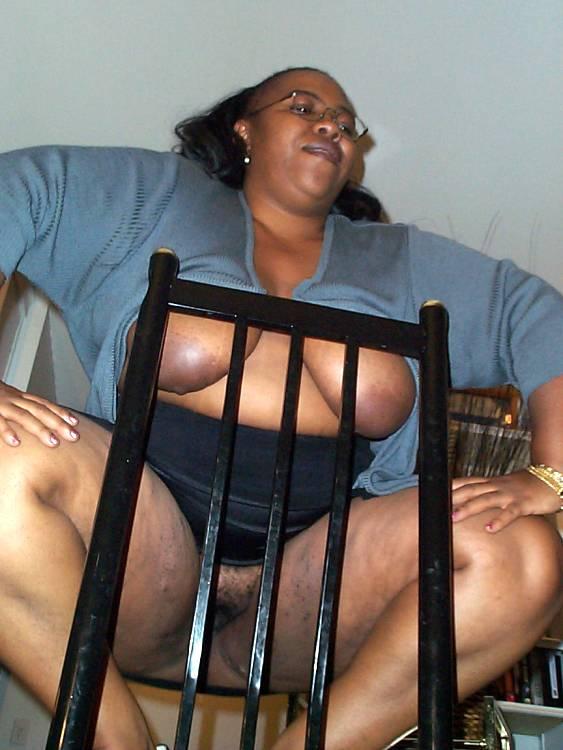 Black women posing mature
